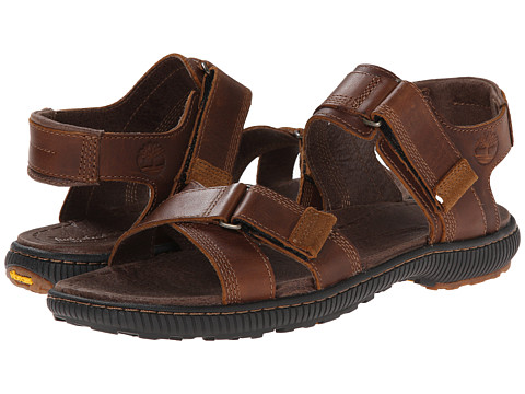 Timberland - Earthkeepers Hollbrook Sandal (Brown) Men's Shoes