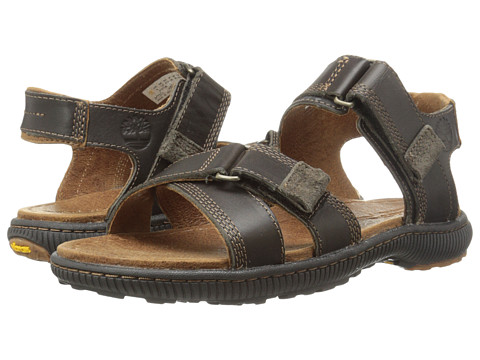 Timberland - Earthkeepers Hollbrook Sandal (Dark Brown) Men's Shoes