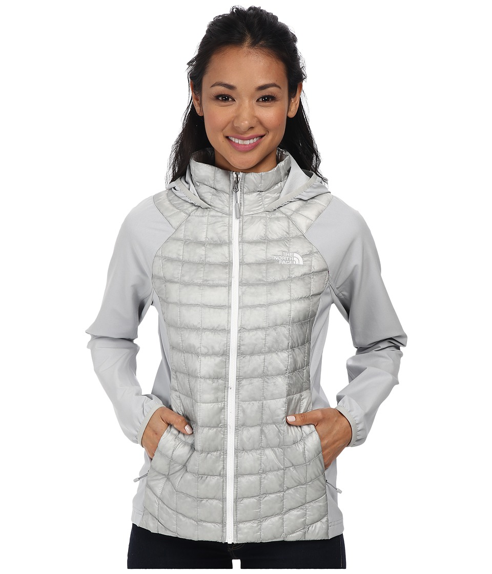 The North Face - ThermoBall Hybrid Hoodie (High Rise Grey/High Rise Grey) Women's Coat