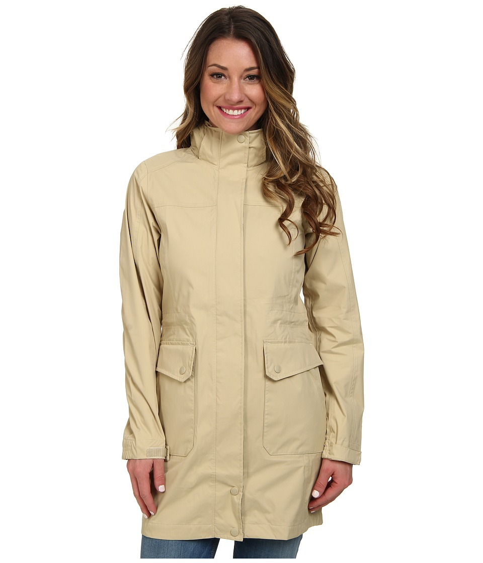 The North Face - Quiana Rain Jacket (Pale Khaki) Women's Jacket