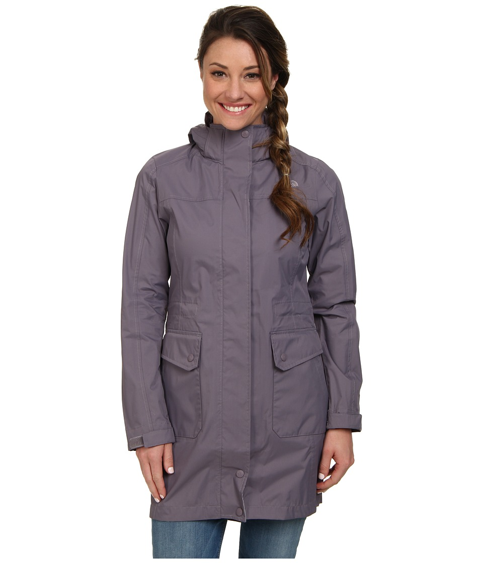 The North Face - Quiana Rain Jacket (Coastal Grey) Women