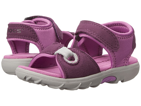 Bogs Kids - Yukon (Toddler) (Purple Multi) Girls Shoes
