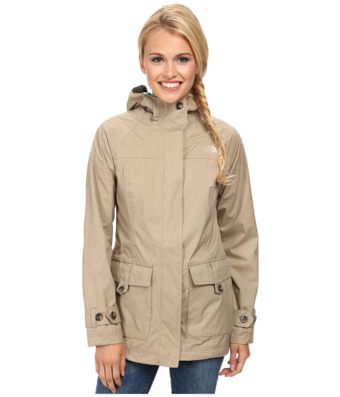 The North Face - Carli Jacket (Pale Khaki M lange) Women's Coat