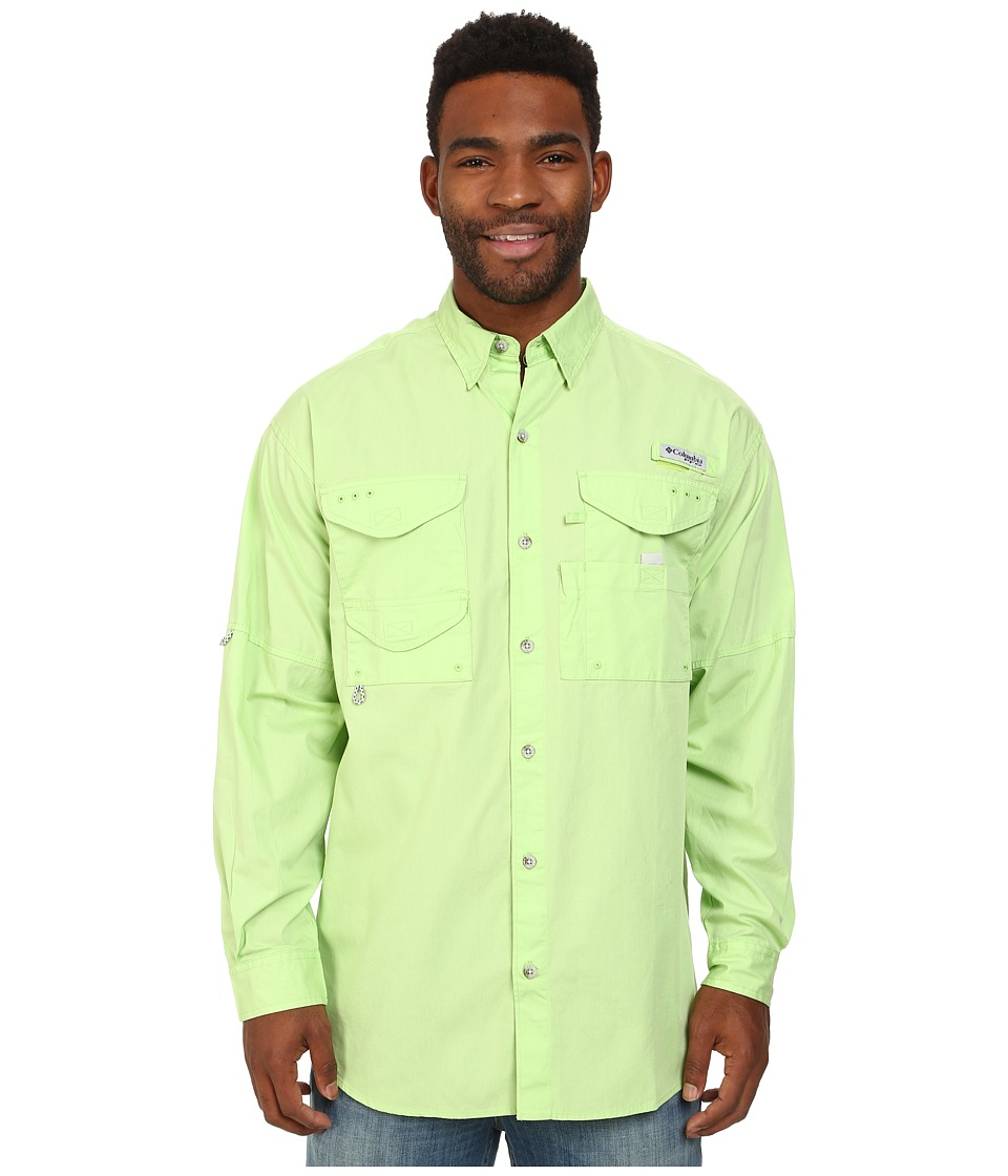 Columbia - Bonehead L/S Shirt (Jade Lime) Men's Long Sleeve Button Up