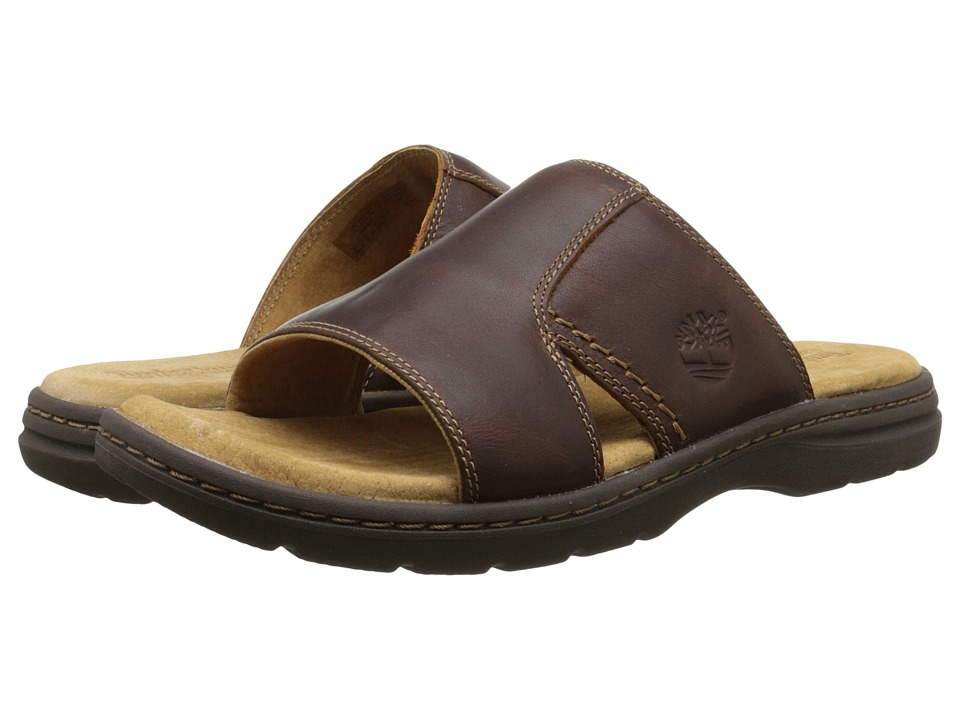Timberland - Earthkeepers Altamont 2.0 Slide (Brown Full Grain) Men's Shoes