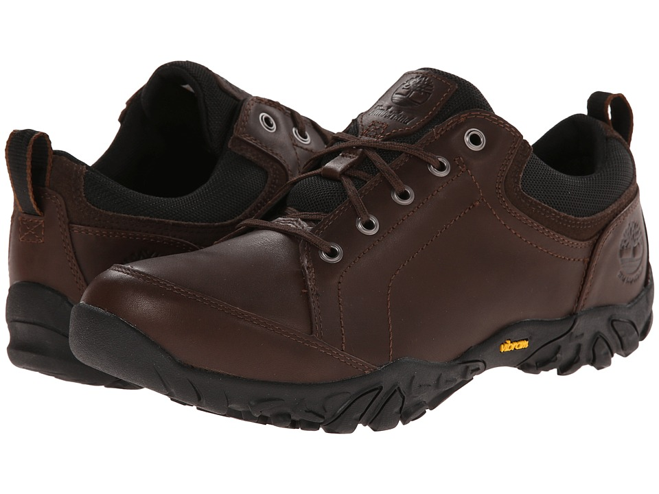 Timberland - Earthkeepers(r) Gorham Low Waterproof (Dark Brown) Men's Shoes