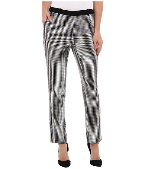 Calvin Klein - Houndstooth City Pant (Houndstooth) Women