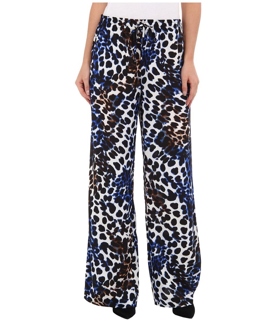 Calvin Klein - Print Wide Leg Pant (Celestial Multi) Women's Casual Pants plus size,  plus size fashion plus size appare