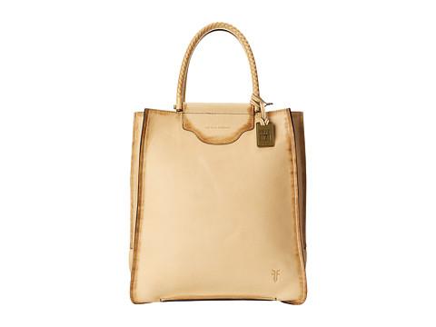 Frye - Bianca Tote (Banana Soft Pebbled Full Grain) Tote Handbags