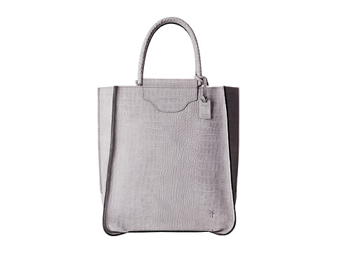 Frye - Bianca Tote (Grey Embossed Full Grain) Tote Handbags