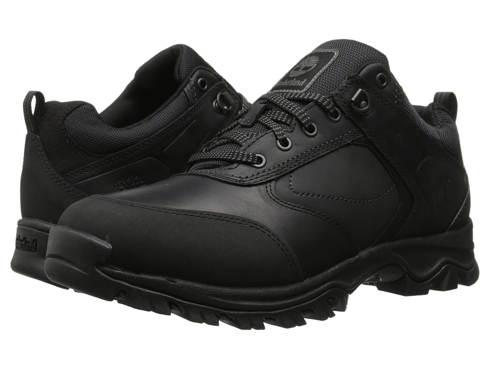 Timberland - Mt. Maddsen Low (Black) Men's Shoes