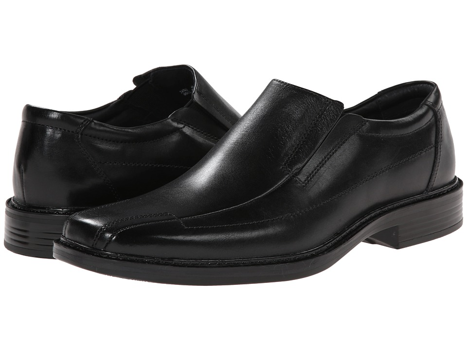 Bostonian - Capi (Black Leather) Men's Slip-on Dress Shoes