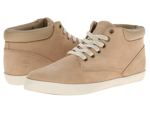 Timberland - Earthkeepers Glatenbury Chukka Collar (Off White Nubuck) Women's Lace up casual Shoes