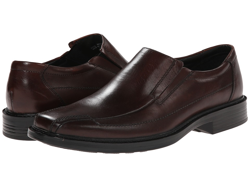 Bostonian - Capi (Brown Leather) Men's Slip-on Dress Shoes