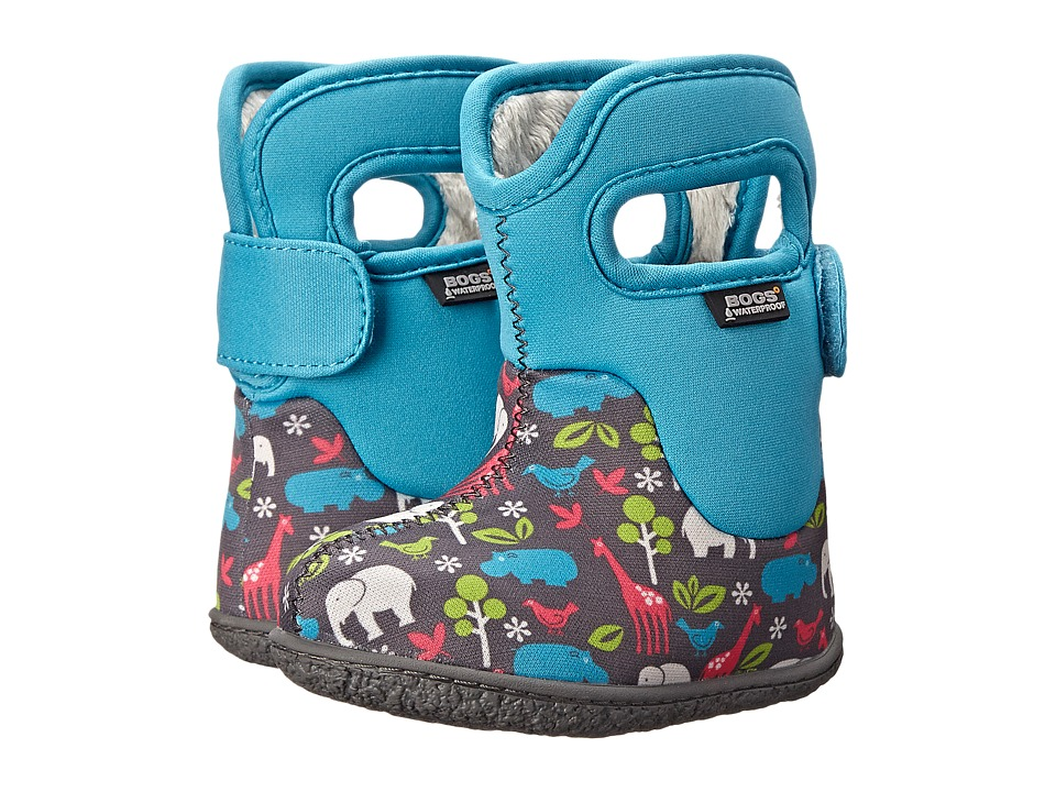 Bogs Kids - Classic Animals (Toddler) (Aqua Multi) Kids Shoes