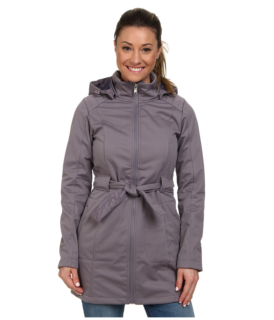 The North Face - Sashanna Soft Shell Jacket (Coastal Grey) Women's Coat