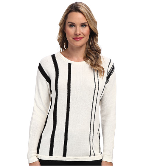 Calvin Klein - Single Stripe Pullover (Birch) Women