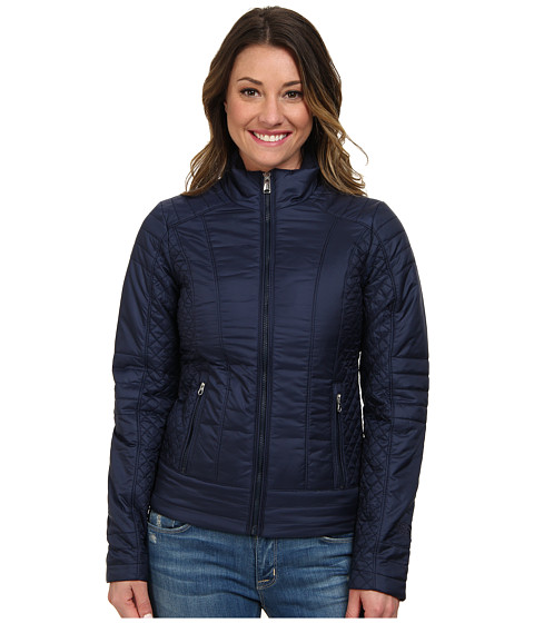 The North Face - Insulated Ruka Jacket (Cosmic Blue) Women's Coat