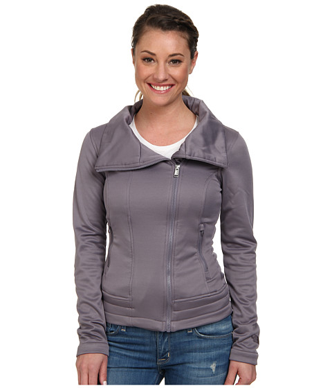 The North Face - Portia Fleece Jacket (Coastal Grey) Women