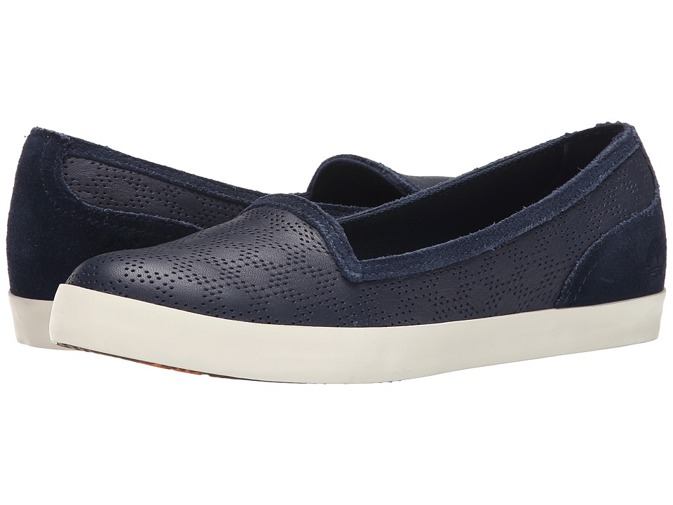 Timberland - Earthkeepers Glastenbury Perforated Slip-On (Navy Gluvy) Women