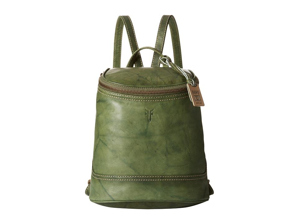 Frye - Campus Small Backpack (Olive Dakota) Backpack Bags