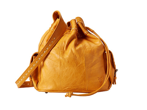 Frye - Harmony Bucket (Sunrise Lambskin Pull Up) Drawstring Handbags