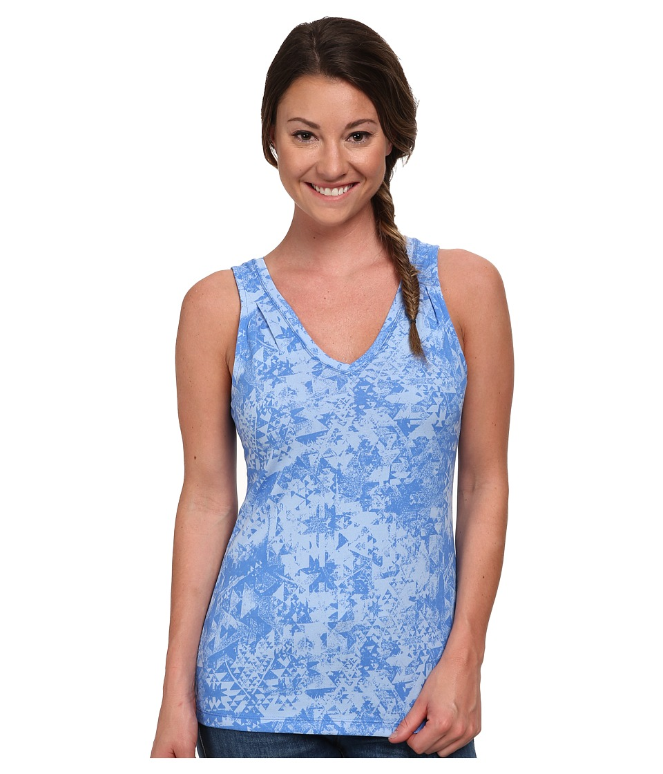 Columbia - Some R Chill III Tank Top (Harbor Blue Aztec Print) Women