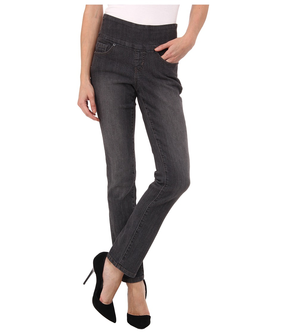 Jag Jeans Petite - Petite Peri Pull-On Straight in Thunder Grey (Thunder Grey) Women's Jeans