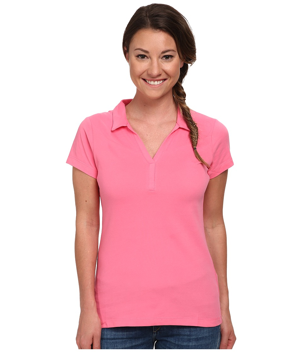 Columbia - Some R Chill II Polo (Tropic Pink) Women's Short Sleeve Pullover