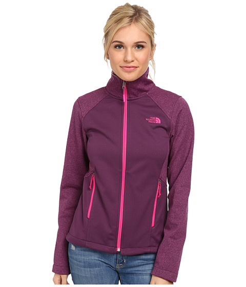 The North Face - Canyonwall Jacket (Black Currant Purple/Black Currant Purple Heather) Women