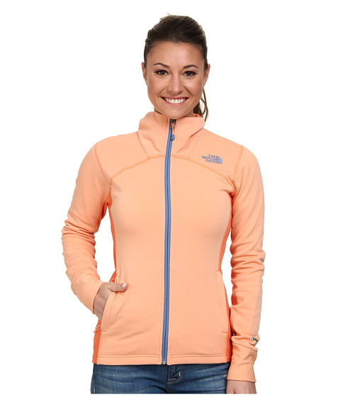 The North Face - Momentum Pro Jacket (Punch Orange/Emberglow Orange) Women's Jacket