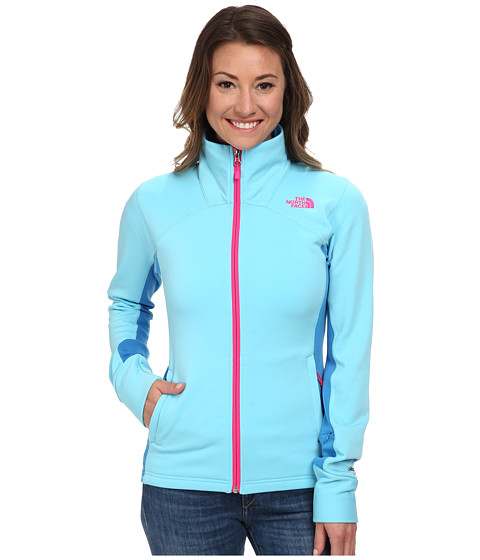 The North Face - Momentum Pro Jacket (Fortuna Blue/Clear Lake Blue) Women