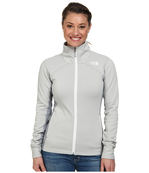 The North Face - Momentum Pro Jacket (High Rise Grey/Mid Grey) Women's Jacket