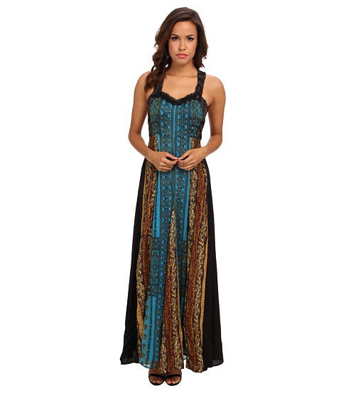 Free People - Star Dust Dress (Ocean) Women