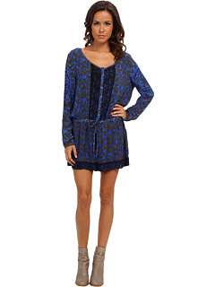 SALE! $72.99 - Save $45 on Free People Resort Romper (Electric Blue Combo) Apparel - 38.14% OFF $118.00