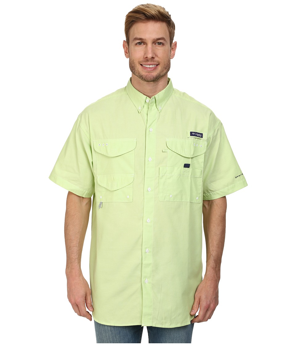 Columbia - Super Bonehead Classic S/S Shirt (Jade Lime Oxford) Men's Short Sleeve Button Up