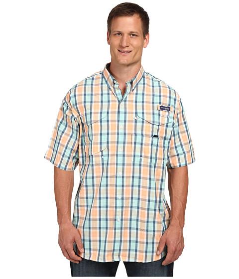 Columbia - Big Tall Super Bonehead Classic Short Sleeve Shirt (Jupiter Plaid) Men
