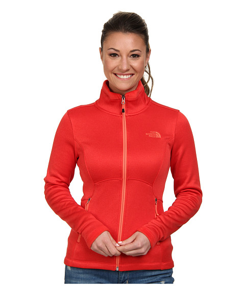 The North Face - Agave Jacket (Tomato Red) Women's Coat