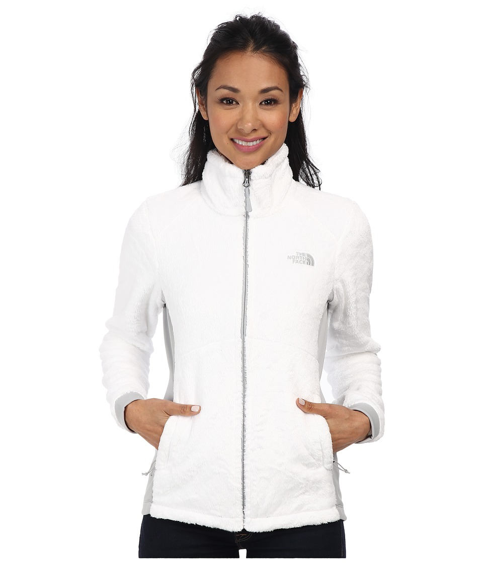 The North Face - Tech-Osito Jacket (TNF White/High Rise Grey) Women's Coat
