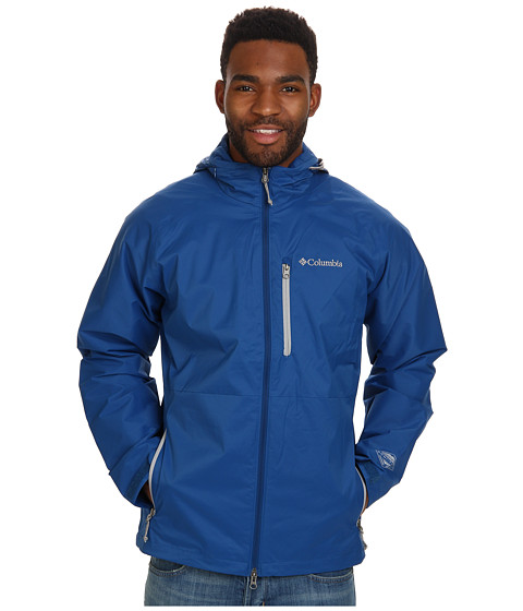 Columbia - Pine Oaks Jacket (Marine Blue/Columbia Grey) Men