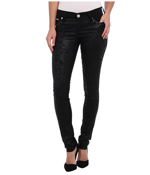 Affliction - Raquel Millenium Jean in Black Snakeskin Print (Black Snakeskin Print) Women's Jeans
