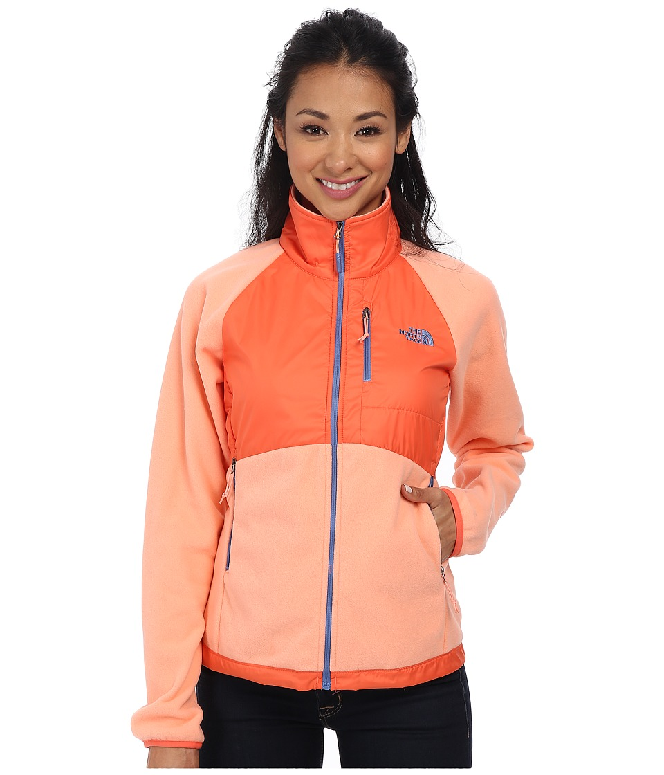 The North Face - McEllison Jacket (Punch Orange/Emberglow Orange) Women's Jacket