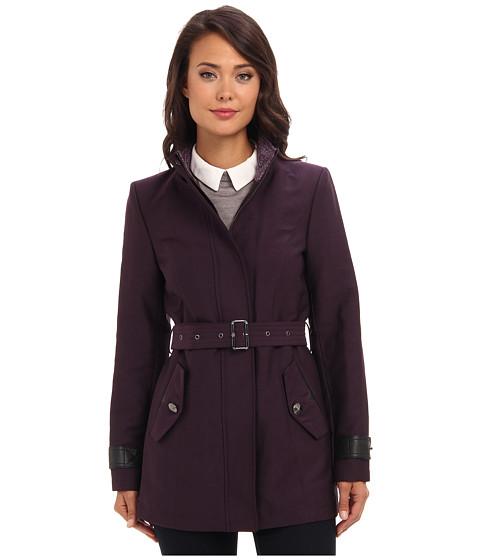Sam Edelman SB Trench (Eggplant) Women's Coat