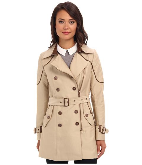 Sam Edelman DB Trench (Tan) Women's Coat