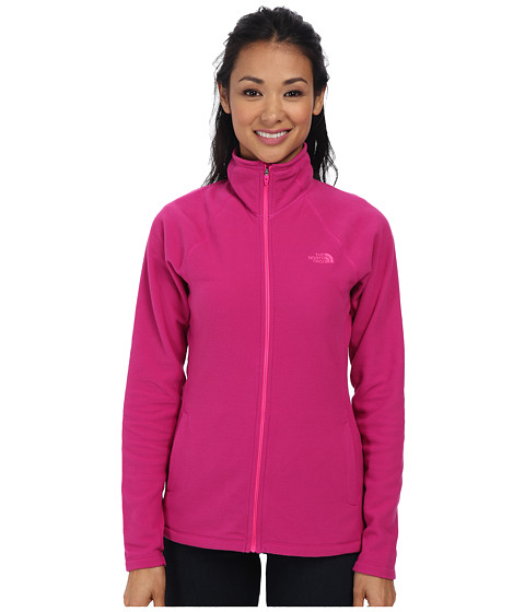 The North Face - Tech 100 Full Zip (Fuchsia Pink/Fuchsia Pink) Women