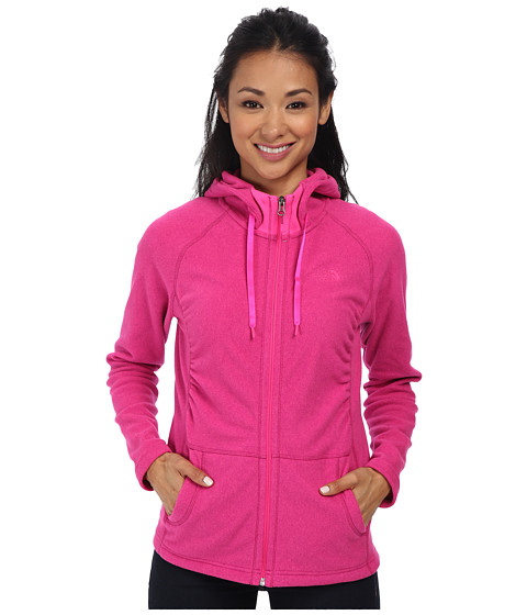 The North Face - Mezzaluna Hoodie (Fuchsia Pink) Women