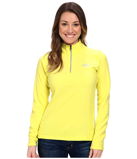 The North Face - Glacier 1/4 Zip (Hamachi Yellow) Women