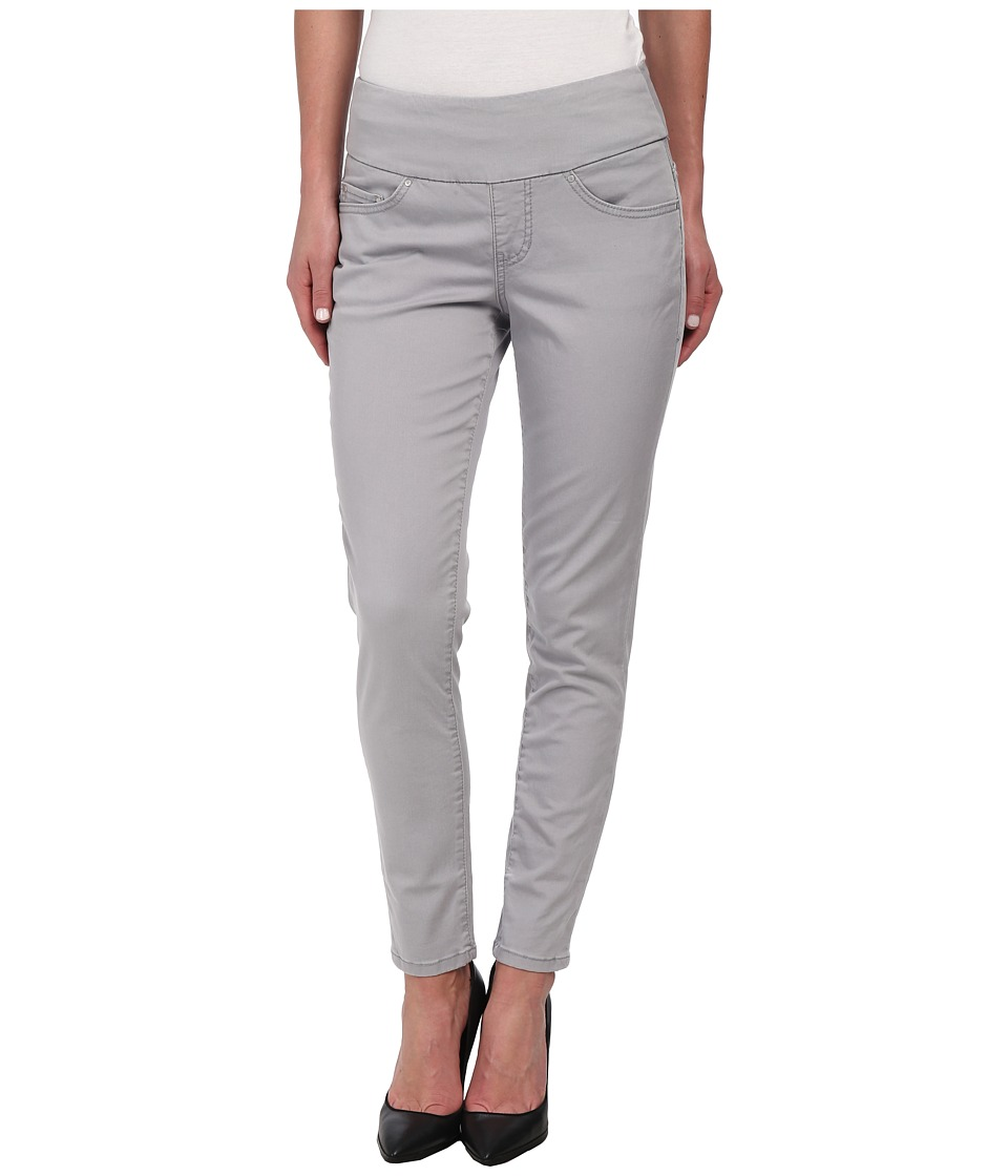 Jag Jeans - Amelia Pull-On Slim Ankle in Bay Twill (Grey Morn) Women's Casual Pants