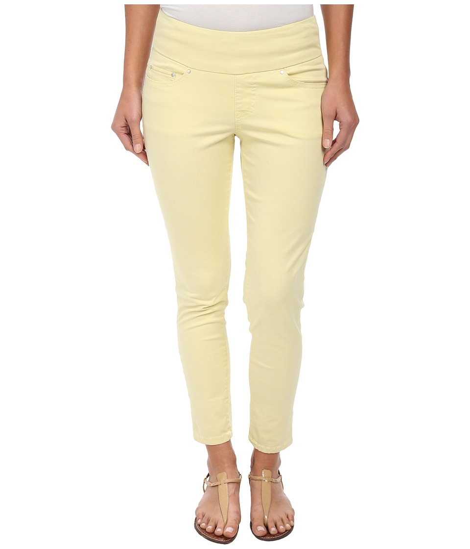 Jag Jeans - Amelia Pull-On Slim Ankle in Bay Twill (Lemon Twist) Women