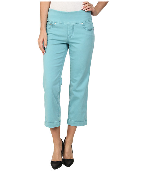 Jag Jeans - Caley Classic Fit Crop Heritage Twill (Surf) Women's Jeans